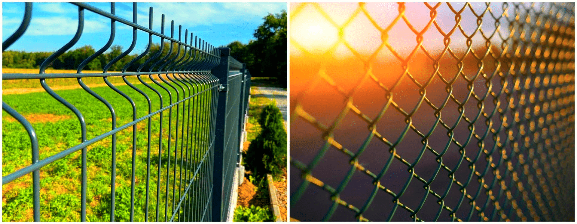 3D Welded Fence&Chain Link Fence