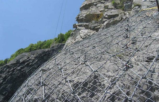 Rockfall Netting